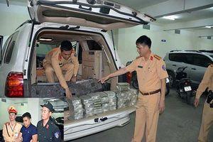 Quảng Ninh: Phát hiện xe ô tô biển Lào vận chuyển trái phép 100 bánh ma túy