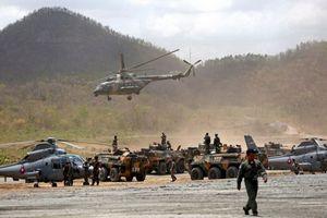 Quân đội Campuchia trình diễn bộ mặt hiện đại không ngờ