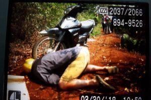 Gia Lai : Người đàn ông chết trong tư thế quỳ gối
