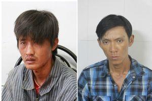 Tạm giữ 2 người trộm cắp tài sản, gây thương tích cho công an phường