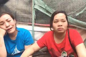 Tiểu thương chợ Thanh Liệt, Hà Nội khóc nấc khi biết tin vụ cháy