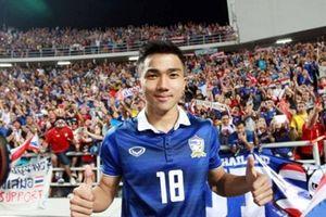 Tuyển Thái Lan không có 'Messi Thái' ở AFF Cup 2018