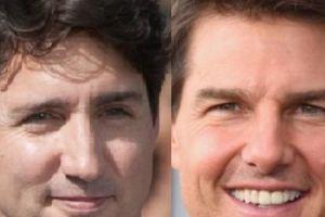 Thủ tướng Canada, Tom Cruise lọt top 10 đẹp trai nhất hành tinh