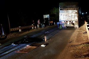 Tai nạn giao thông, nam thanh niên chết thảm dưới bánh xe tải