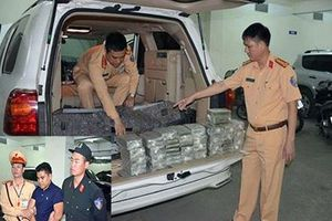 Quảng Ninh: Thưởng nóng CSGT bắt vụ vận chuyển 100 bánh heroin