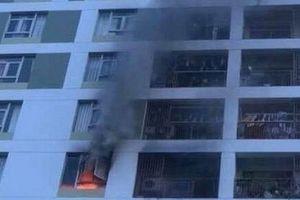 Cháy Chung cư ParcSpring ở TP. Hồ Chí Minh