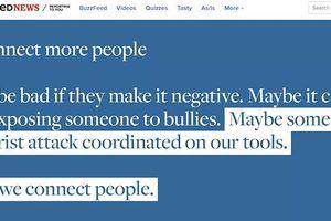 Rò rỉ 'Ghi chú xấu' đang làm nội bội Facebook lục đục