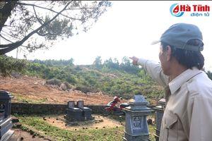 Mỏ đá đe dọa an toàn mồ mả, hàng trăm người dân 'kêu cứu'!