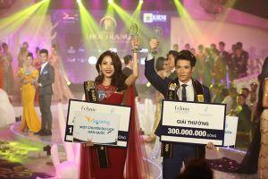 Lệ Nam - Sỹ Hưng đăng quang 'Người mẫu thời trang Việt Nam 2018'