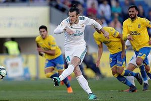 Ronaldo vắng mặt, Bale sắm vai người hùng giúp Real đè bẹp Las Palmas