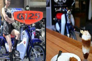Honda Super Cub C125 bản màu xanh cho dân chơi 'cô đơn'