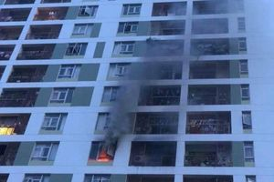Hỏa hoạn tại chung cư PARC Spring (TP Hồ Chí Minh)