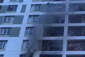 Chung cư Parc Spring bị cháy do một cục sạc dự phòng