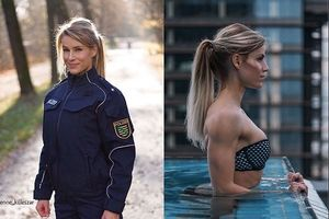 Nữ cảnh sát Đức quyến rũ 'hạ gục' 500.000 cư dân mạng