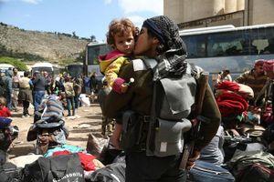Nhóm phiến quân Jaish al Islam đã rời khỏi thành trì cuối cùng ở đông Ghouta