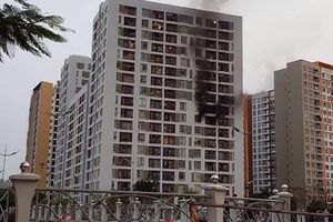 Nguyên nhân ban đầu vụ hỏa hoạn tại tầng 8 chung cư ParcSpring