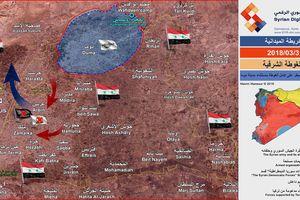 Nhóm thánh chiến tử thủ Đông Ghouta đầu hàng vẫn cầm giữ hàng ngàn tù binh làm lá chắn sống