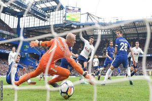 Thua đau Tottenham, Chelsea cạn hy vọng dự Champions League