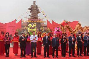 Khánh thành Tượng đài, Đền thờ Lý Thường Kiệt tại Bắc Ninh