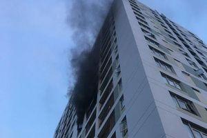 Bất ngờ trước nguyên nhân gây cháy tại chung cư Parc Spring
