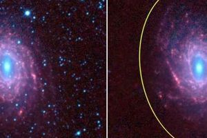 Thông tin mới gây sốt về thiên hà xoắn ốc NGC 6744