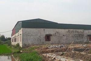 Hải Phòng: Tạm đình chỉ xưởng sản xuất mũ giày 'chui' tại huyện Vĩnh Bảo