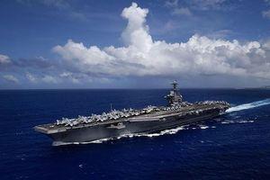 Cụm tàu sân bay tấn công số 9 Hoa Kỳ tiến vào Biển Đông