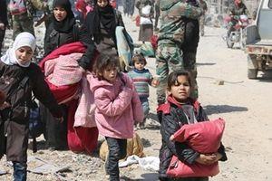 Hòa bình lập lại, người dân Đông Ghouta hân hoan trở về quê nhà