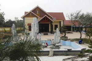Vĩnh Lộc, Thanh Hóa: Xây biệt thự trái phép trên đất nông nghiệp?