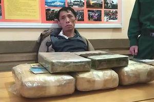 Biên phòng: Bắt 2 bánh heroin và 18.000 viên ma túy tổng hợp