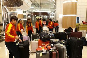 Tuyển bóng đá nữ Việt Nam đã có mặt tại thủ đô Amman (Jordan)