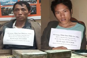 Sơn La: Bắt 2 đối tượng người Lào vận chuyển số lượng lớn ma túy