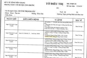 VNPT Tiền Giang khẳng định 'không phải lỗi phần mềm' trong vụ cấp nhầm thuốc phá thai