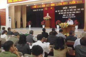 Phú Yên cụ thể hóa việc thực hiện các Nghị quyết Hội nghị lần thứ VI, khóa XII