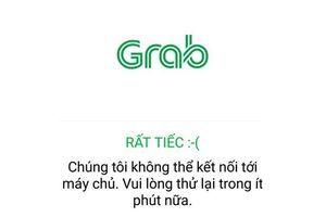 Dịch vụ Grab đang 'tê liệt' tại Việt Nam