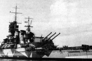 Trận Đức đánh chìm thiết giáp hạm huyền thoại Ý khiến 1253 người chết