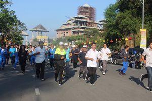 Chạy vì hòa bình và sức khỏe cộng đồng