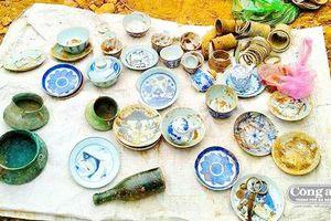 Đào móng nhà phát hiện cổ vật