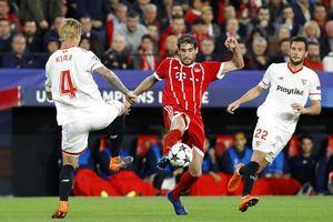 Sevilla 1 - 2 Bayern Munich: Cú lội ngược dòng may mắn