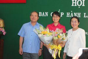 Bà Trần Thị Diệu Thúy được bầu làm Chủ tịch LĐLĐ TP HCM