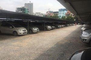 Dẹp bãi xe 'khủng', Phó trưởng Công an quận bị dọa giết