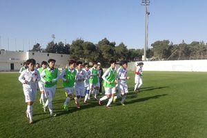 Tuyển bóng đá nữ Việt Nam làm quen với thời tiết ở thủ đô Amman