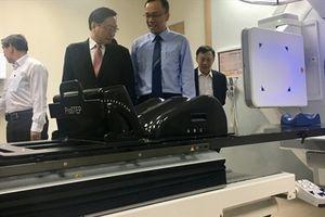 Bệnh viện Chợ Rẫy triển khai hệ thống gia tốc xạ trị - xạ phẫu đa năng lượng