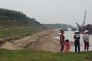 Người dân xã Sông Lô bất an trước tình trạng khai thác cát rầm rộ