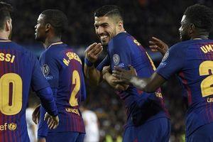Cầu thủ Roma giúp sức, Barcelona thắng lớn ở lượt đi tứ kết Cúp C1