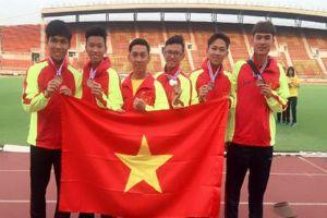 Điền kinh trẻ Đông Nam Á: Việt Nam đứng thứ hai toàn đoàn