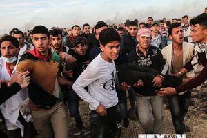Các cuộc đụng độ bùng phát dọc biên giới Israel và Gaza
