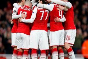 Kết quả lượt đi vòng tứ kết Europa League: Arsenal đại thắng