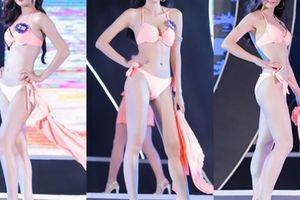Phần thi áo tắm nóng bỏng tại bán kết Hoa hậu Biển Việt Nam toàn cầu
