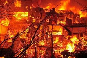 Aman Tuleyev Từ chức vì hỏa hoạn